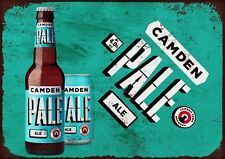 Camden Pale ale metal wall sign