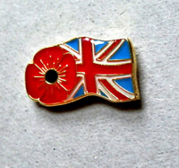 BRAND NEW BEAUTIFUL COMMEMORATIVE P. DAY ENAMEL PIN BADGE BROOCH UNION JACK FLAG