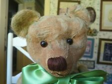 Antique Vintage Old 1930s German Teddy Bear Fair Condition Germany 16in (Cute!)