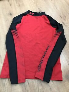 Youth Cold Gear Under Armour. Base Layer Red Long Sleeve Youth Medium YMD
