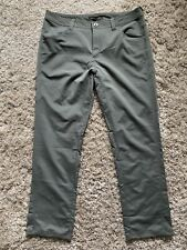 Nau Mens Pants Size 38 Cargo Utility Stretch Pant