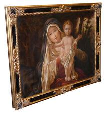 """N.50M """"Maternità"""" Olio su Tela  Dimensioni cm 77 x 63 QUADRO DIPINTO"""
