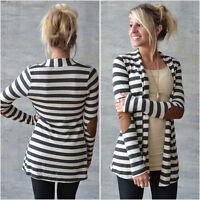 NEW Fashion Women Long Sleeve Sweater Casual Cardigan Outwear Coat Jacket Tops