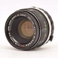 Auto Miranda EC 50mm F1.8 Lens For Miranda Mount! Good Condition!