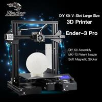 Creality Ender-3 Pro High Accuracy 3D Printer DIY MK10 220x220x250mm Resume H1G8
