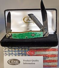 Case XX Emerald Green Medium Stockman W/Worked Bolsters Knife/Knives ~NEW