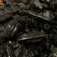 2000 Carat Lots of SMALL Natural Black Tourmaline + a FREE Faceted Gemstone