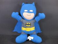"BATMAN Blue Buddy DC Super Friends 9"" Toy Factory Plush Stuffed  Doll"