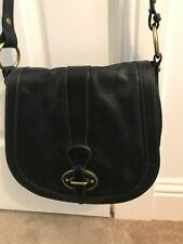 Fossil Ladies Brown Soft Leather Saddle Cross Body Bag