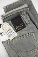 Denham Crop Grgf W32 L27 Niedriger Schritt Locker Stained Selvage Candiani Jeans