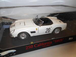 HWET6931 by HOT WHEELS ELITE FERRARI 250 CALIFORNIA SWB #20 LM 1969 1:18
