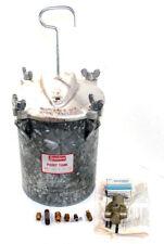 New listing Speedaire Model 2Z367 Paint Tank 3 Gallon Dayton Electric Mfg. Company Aluminum