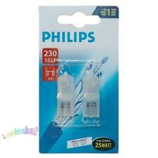 2 Stk.Philips Halogenglühlampe 25W matt  230V G9