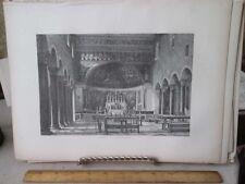 Vintage Print,SANTA MARIA,Rome,Francis Wey,1872