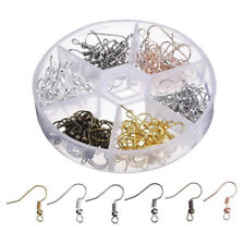 120PCS DIY JEWELRY Making Findings Earring Hook Ear accessories 5 colors