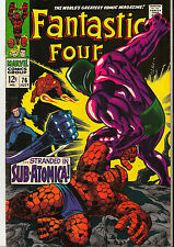 Fantastic Four 76 Galactus * Silver Surfer VF to VF+ (8.0-8.5) Beauty! Movie!