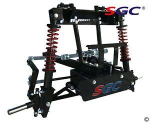 "SGC 6"" Heavy Duty Built in Coil-over Shocks A-Arm Lift Kit EZGO TXT Golf Cart"