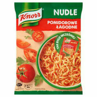 Knorr Nudle Pomidorowe Lagodne Instant Tomato Noodle Soup (3-Pack) Free Shipping