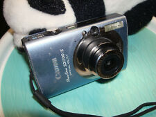 Canon PowerShot Digital ELPH SD1100is Digital Camera - Blue 8.0MP