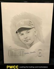 Mickey Mantle Signed Autographed Black & White Lithograph AUTO /1000, SGC LOA