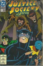 2 1992 DC Comics Justice Society America - THe Ultra-Humanite Goes Ape