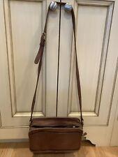 "Vintage Coach nutmeg brown Soft Leather Crossbody Bag H5C-9974 10.25""x6.25"""