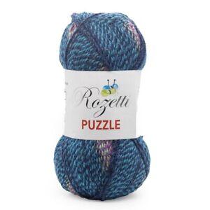 Himalaya Rozetti Puzzle - A Marble Effect Yarn