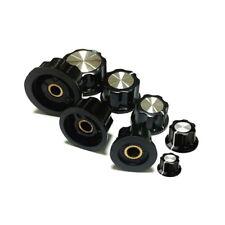 Bakelit Drehknopf Potiknopf Knob Stellknopf Einstellknopf für 6 mm Achse