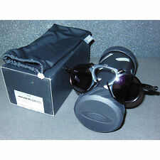 New Oakley Madman Sunglasses Dark Carbon/Prizm Daily Polarized Mad Man Round