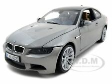 BMW M3 E92 COUPE GREY 1:18 DIECAST MODEL CAR BY MOTORMAX 73182
