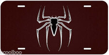 Spider Aluminum Novelty Car License Plate A01