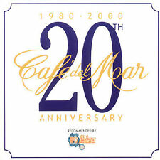 Cafe del Mar 20th Anniversary by Cafe del Mar CD Sep 2000 LIKE NEW