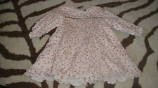 EURO BOUTIQUE JACADI 74 12M 12 MONTHS FLORAL DRESS
