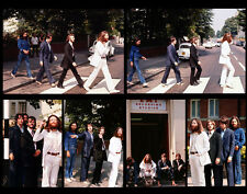 """The Beatles Abby Road Crossing Photo Print 14 x 11"""""""