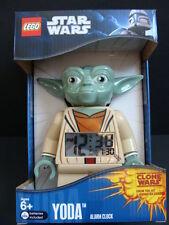 NEW LEGO STAR WARS Yoda Alarm Clock Digital Minifigure Jedi Master Clone NIB