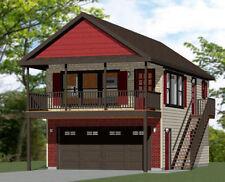 20x32 Tiny House -- PDF Floor Plan -- 808 sq ft -- Model 6I
