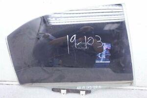 99 00 01 02 03 Acura TL 3.2L REAR PASSENGER DOOR WINDOW GLASS 73400-S0K-A00
