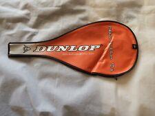 Dunlop Titanio Max Lite TI Squash Raqueta cabeza cubierta, Naranja