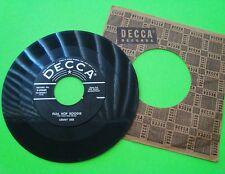 1955? Lenny Dee FLEA HOP BOOGIE / THE HONEYDRIPPER Decca 45 ORIGINAL SLEEVE Xlnt