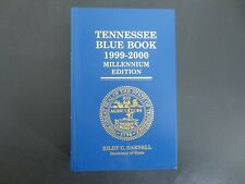 Tennessee Blue Book 1999-2000~Millennium Edition~Hardcover