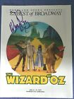 Mickey Rooney Autographed Program Wizard of Oz 1999