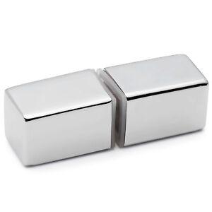 Shower Door Handle/Knob Chrome Zinc Alloy Square Shaped L066