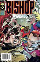 Bishop Comic 4 Cover A First Print 1995 John Ostrander Pacheco Smith Marvel