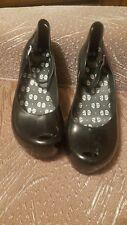 Melissa Wedges, Black, Size 6 jelly