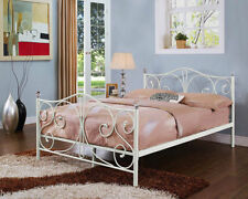 French Country Metal Beds & Mattresses