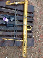Caldwell Strong Bac Rigging Lifting Beam Spreader Bar 1 Ton 23-1-42 Adjustable