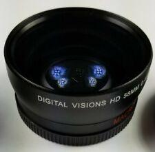 Digital Visions 0.43X 58Mm Camera Lens Japan Optics Macro