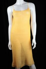Sommerkleid Strickkleid Strandkleid Kleid gelb 36 38 S M Einzelstück Unikat NEU