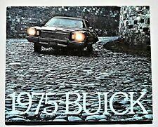"ORIGINAL 1975 BUICK FULL LINE PRESTIGE BROCHURE ~ 68 PAGES ~ 11.5"" X 9"" ~ 75BU"