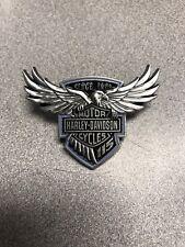 HARLEY-DAVIDSON 115TH ANNIVERSARY PIN EAGLE WINGS WITH BAR & Shield